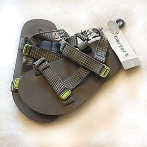 NWT Carter's little boys sandals